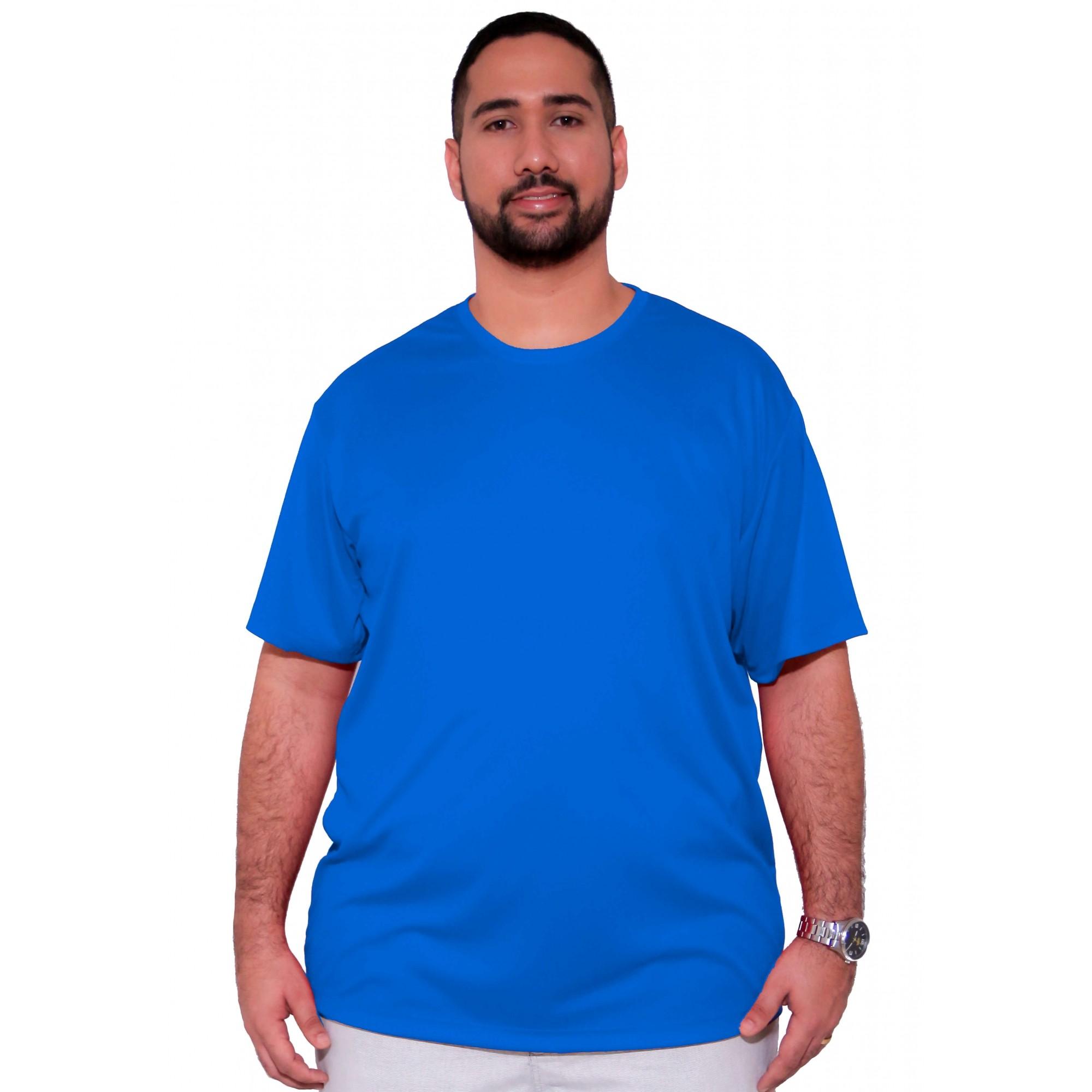 Camiseta Básica Dry-Fit XPlusSize  - HF | High Flight