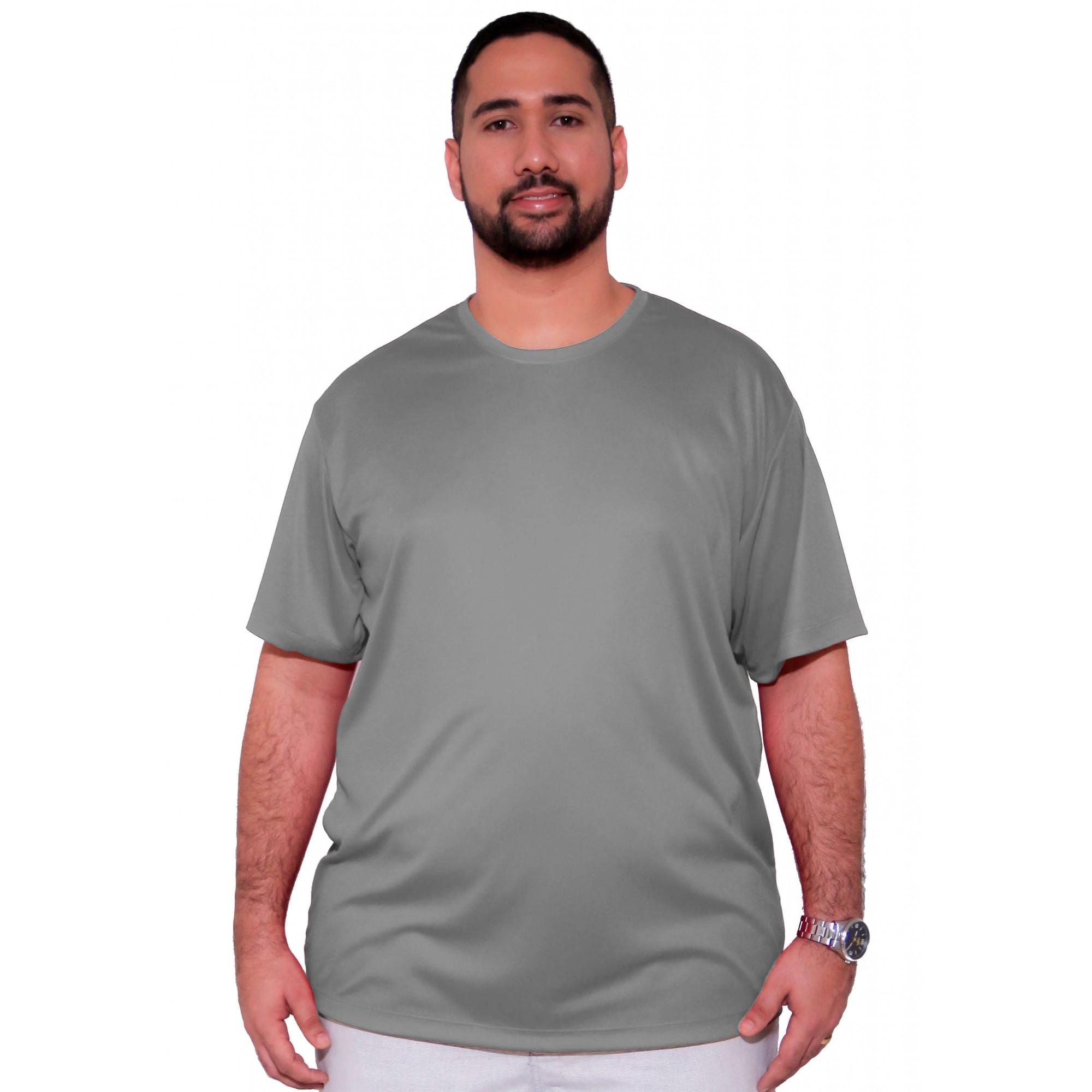 Camiseta Básica Dry-Fit XXPlusSize  - HF | High Flight