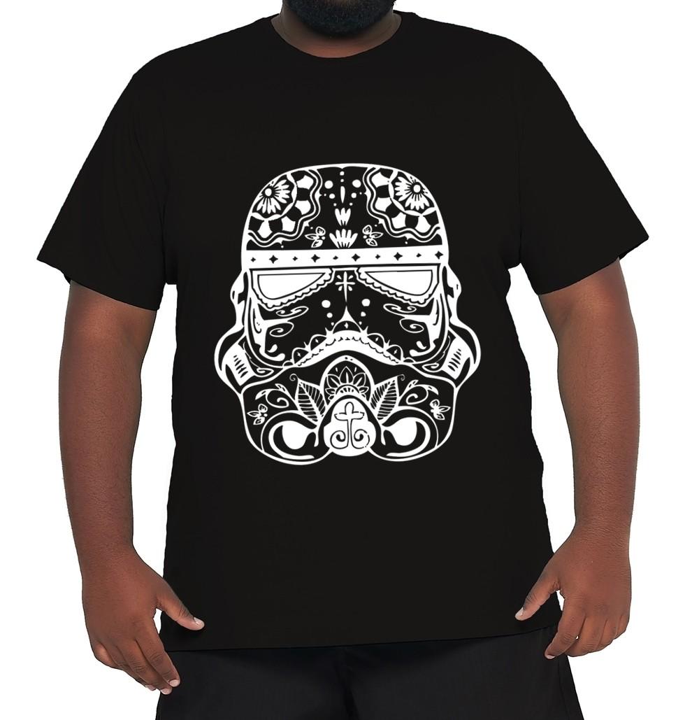 Camiseta Darth Vader Plus Size 100% Algodão  - HF | High Flight