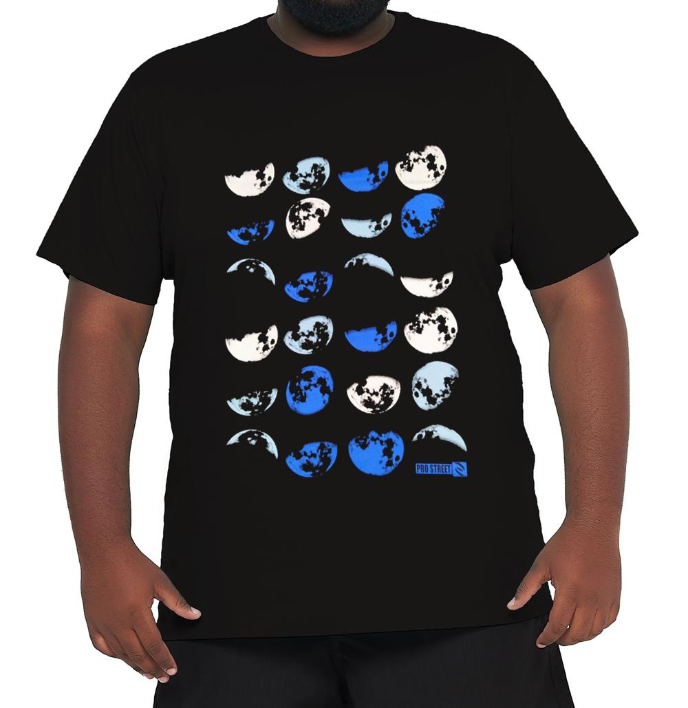 Camiseta Estações da Lua Plus Size  - HF | High Flight