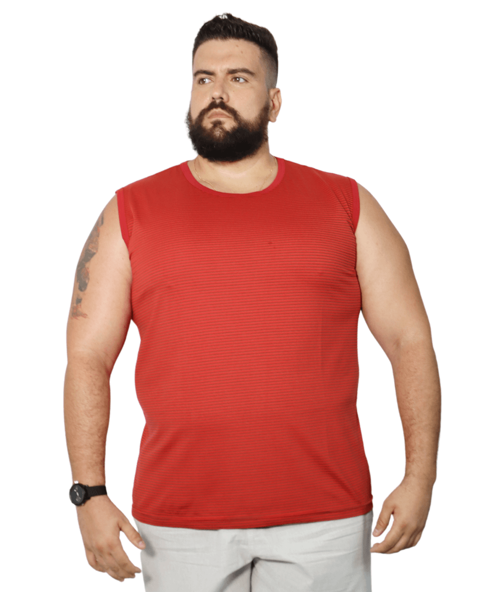 Camiseta Machão Listrada Plus Size  - HF | High Flight