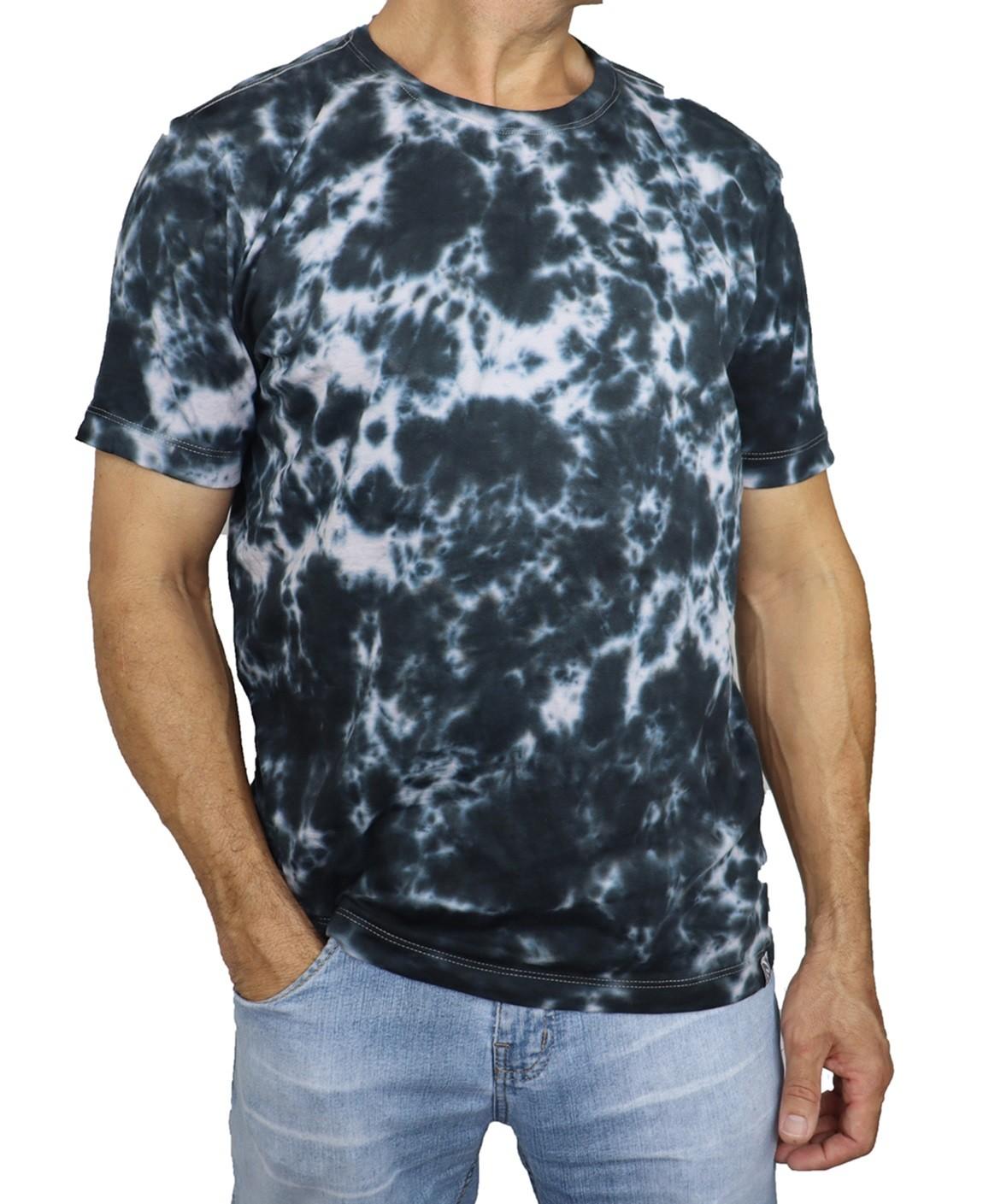 Camiseta Masculina Tie Dye Nuvem  - HF | High Flight