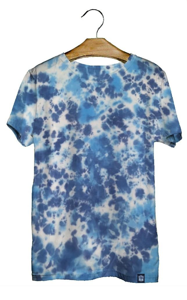 Camiseta Masculina Tie Dye Nuvem Juvenil  - HF | High Flight