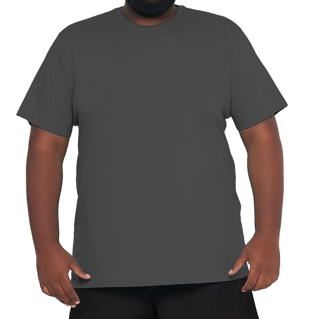 Camiseta XPlus Size Básica Elegante 100% Algodão  - HF | High Flight
