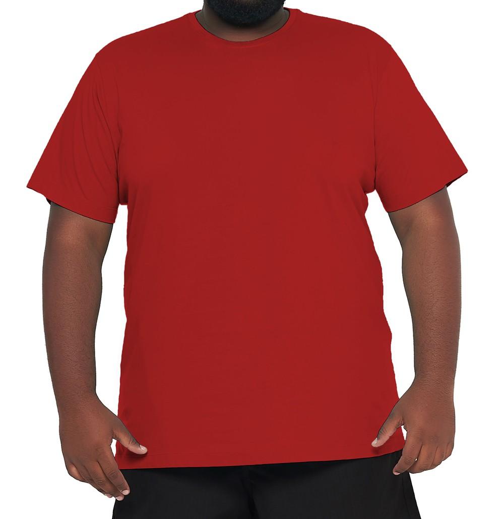 Camiseta Plus Size Básica Elegante 100% Algodão  - HF | High Flight