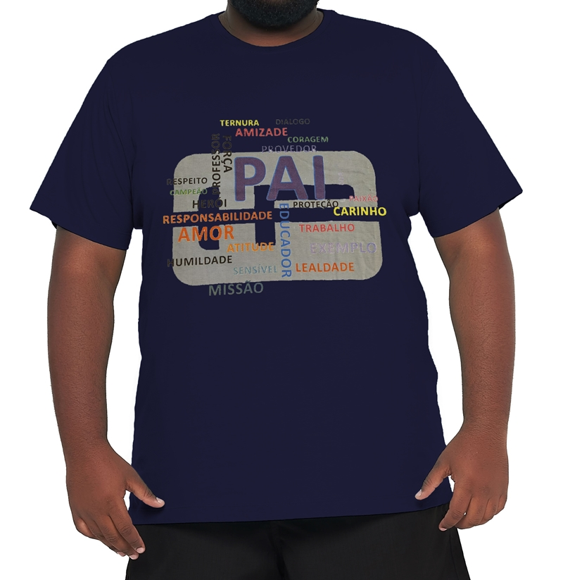Camiseta Papai Plus Size  - HF | High Flight