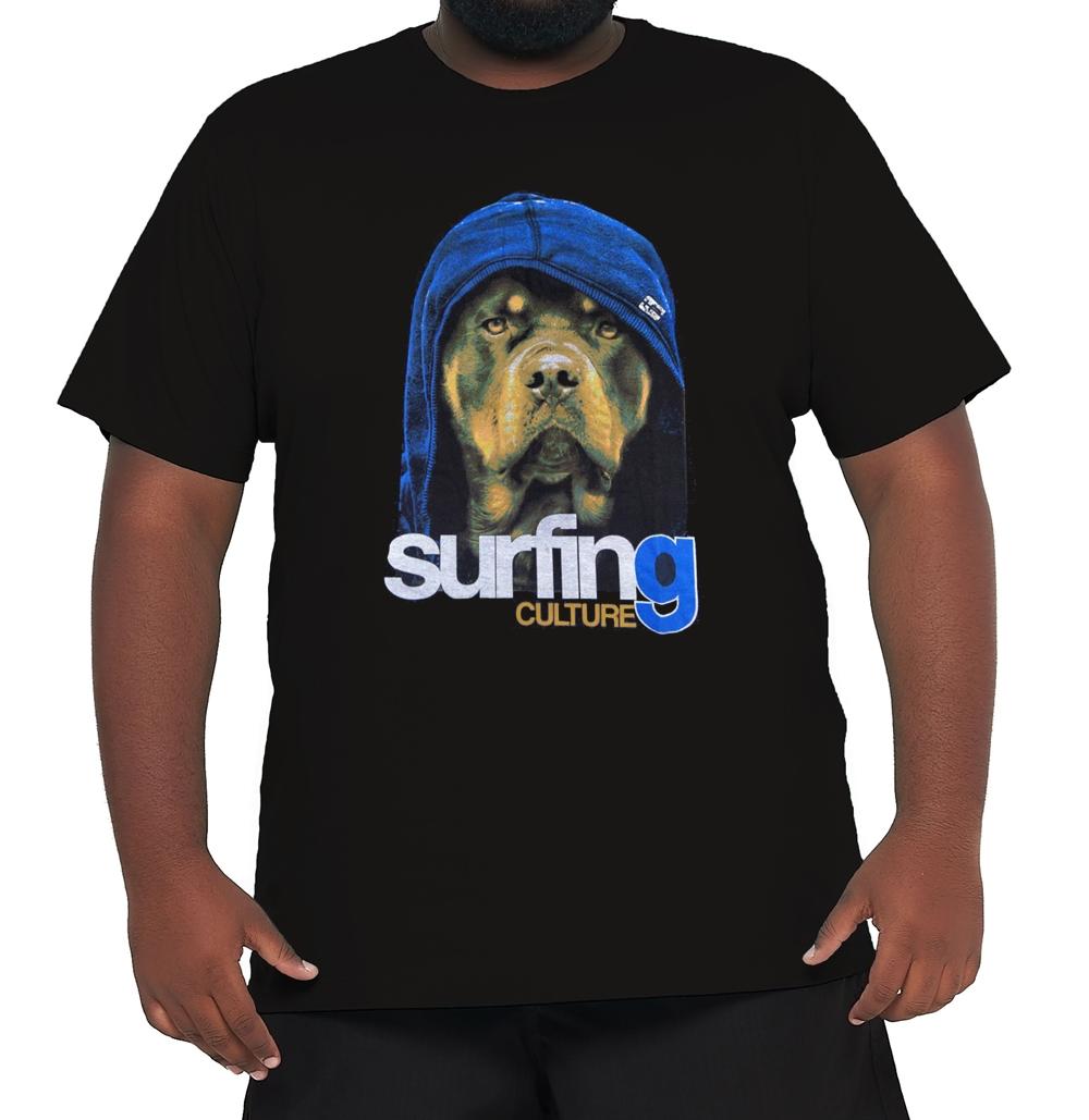Camiseta Surfing Culture Plus Size  - HF | High Flight