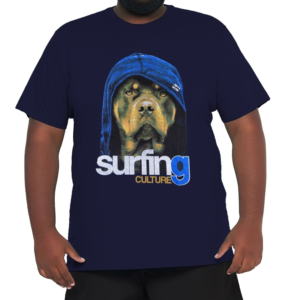 Camiseta Silk XPlusSize 100% Algodão Fio 30.1 Penteada  - HF | High Flight