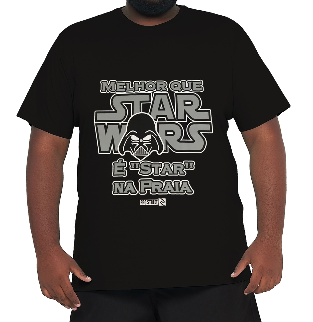 Camiseta Star Wars Plus Size  - HF | High Flight