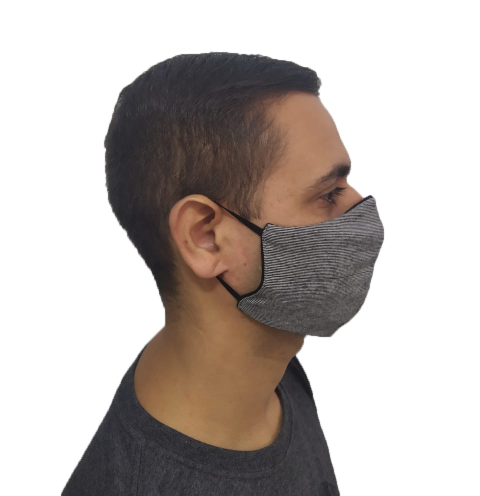 Kit 140 Máscaras Tradicionais 100% Algodão Atacado p Revenda  - HF | High Flight