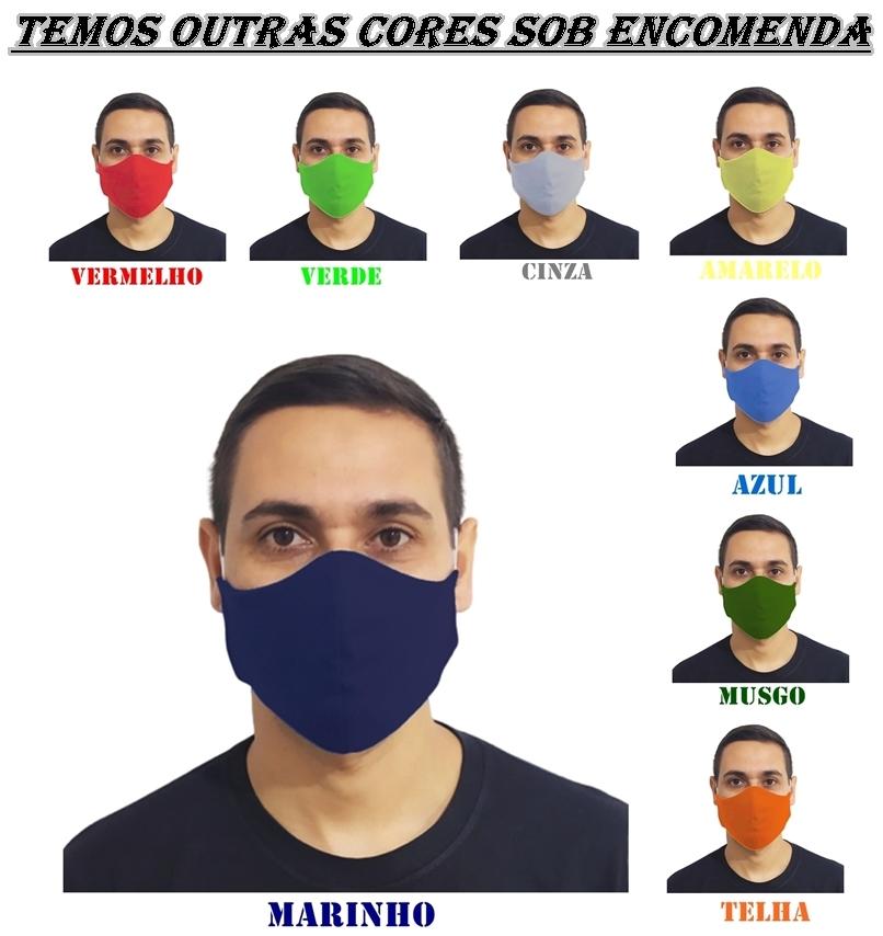 Kit 160 Máscaras 100% Algodão Lavável Atacado para Revenda  - HF | High Flight
