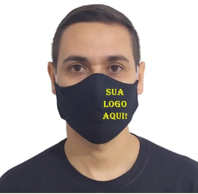 Kit 250 Máscaras p/ Estampar 100% Algodão Revenda Atacado  - HF | High Flight