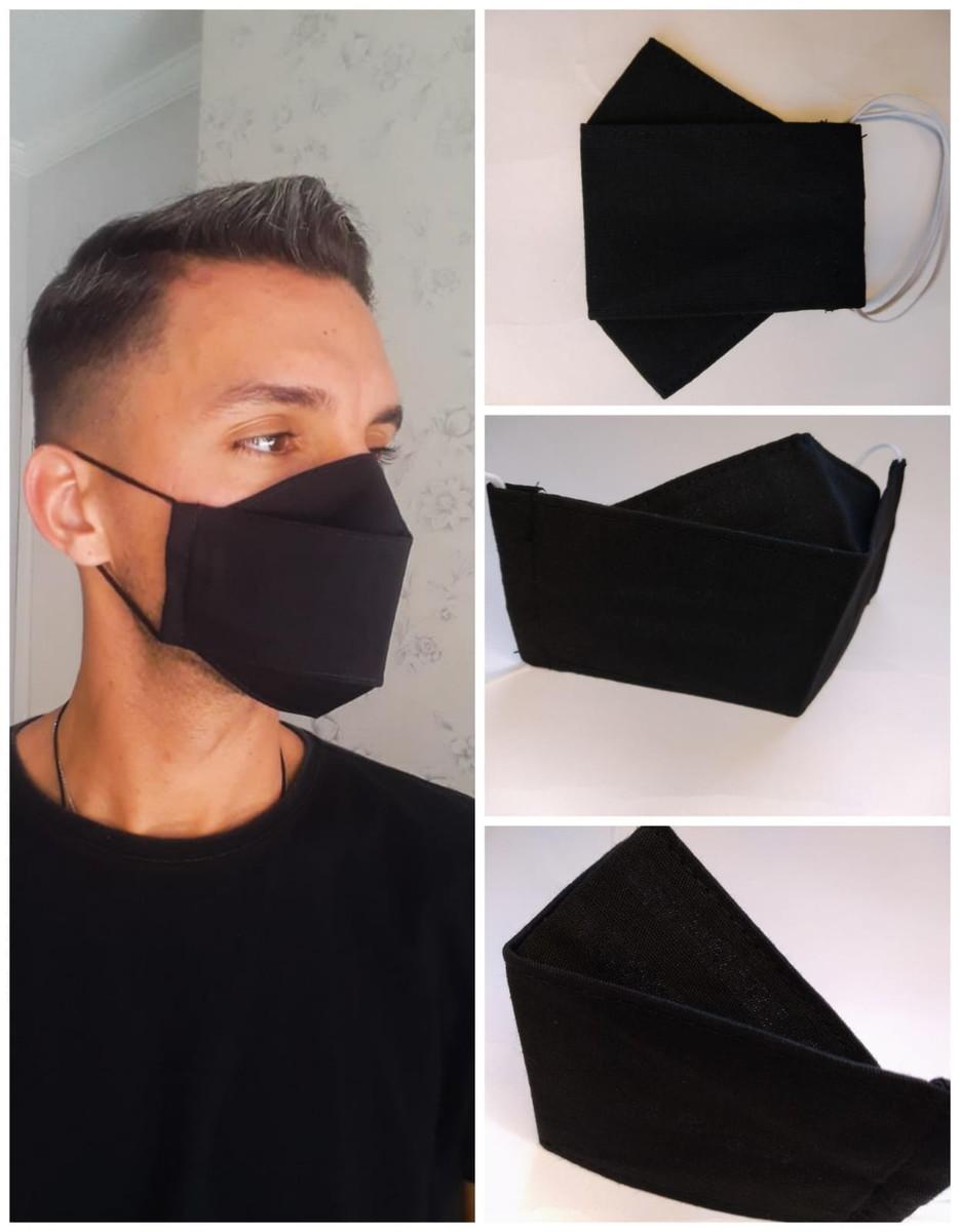 Kit 25 Máscaras 3D Algodão Lavável Atacado para Revenda  - HF | High Flight
