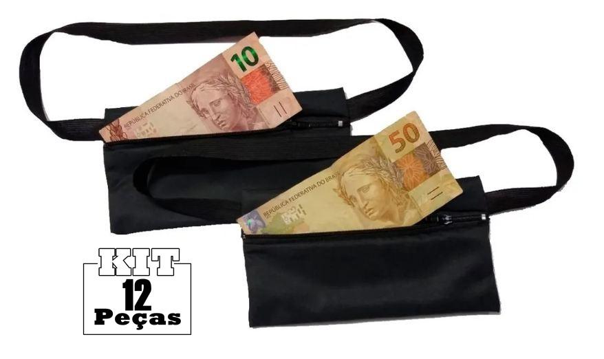 Pochete Porta-dólar Doleira Dinheiro Documentos  - HF | High Flight