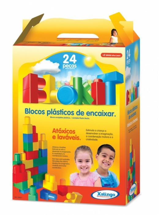 Blokit 24 peças Xalingo
