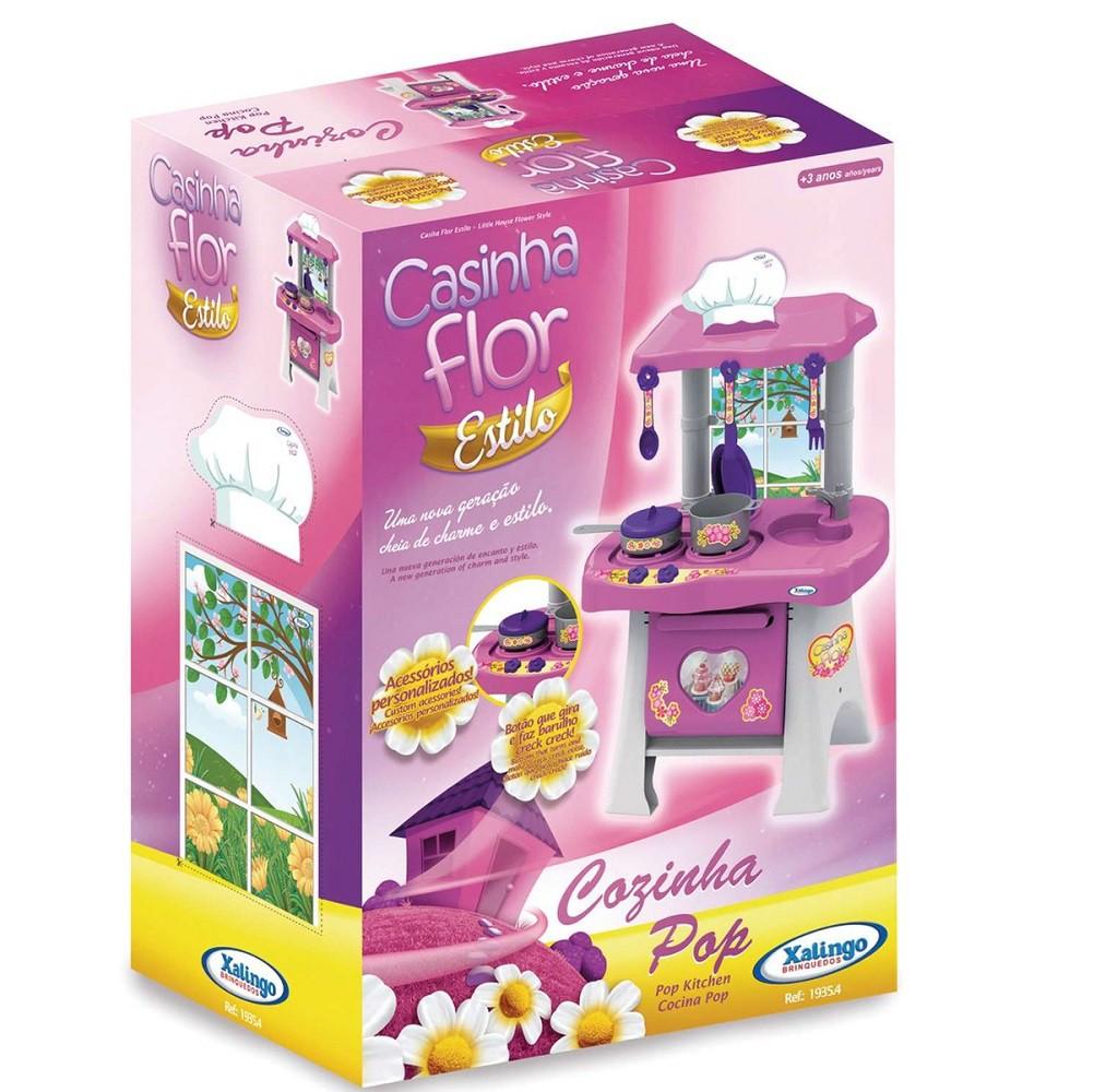 Cozinha Pop Casinha Flor