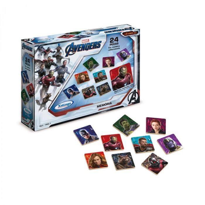 Jogo da Memória Avengers Xalingo