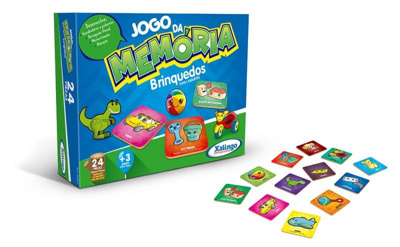 Jogo da Memória Brinquedos Xalingo