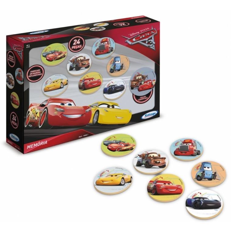 Jogo da Memória Carros Disney Xalingo