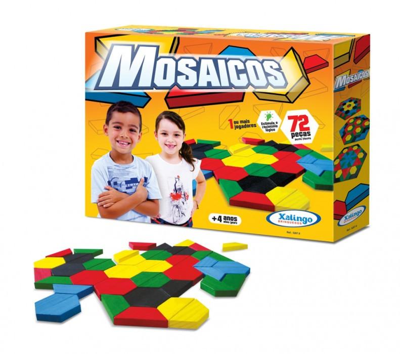 Mosaicos 72 peças Xalingo