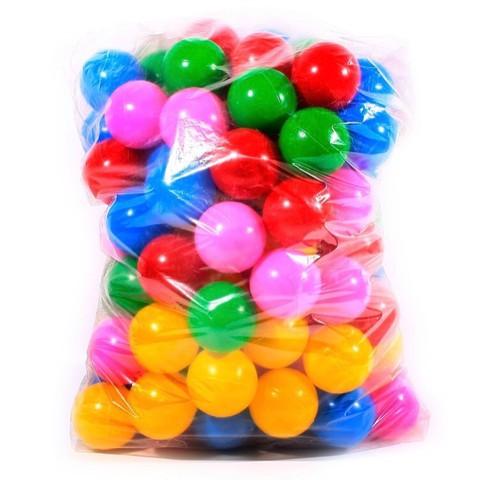 Pacote com 100 Bolinhas Coloridas