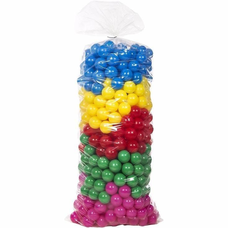 Pacote com 500 Bolinhas Coloridas