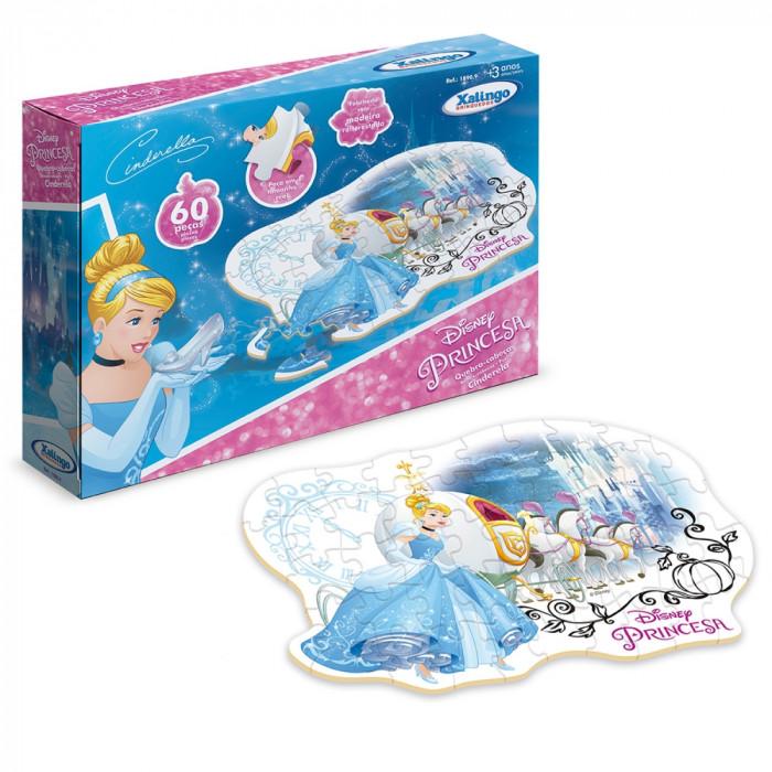 Quebra-Cabeça Cinderela Disney 60 Pcs