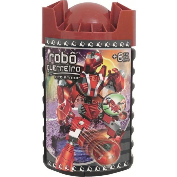 Robô Guerreiro Red Armor 59 pçs Xalingo