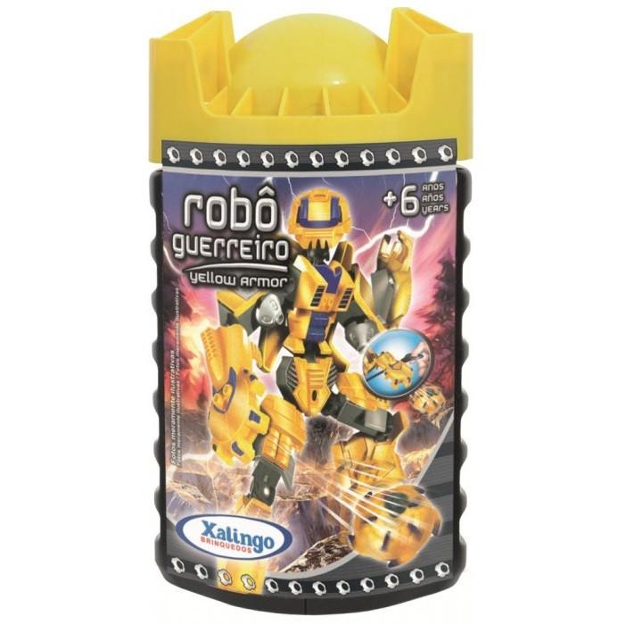 Robô Guerreiro Yellow Armor 57 pçs Xalingo