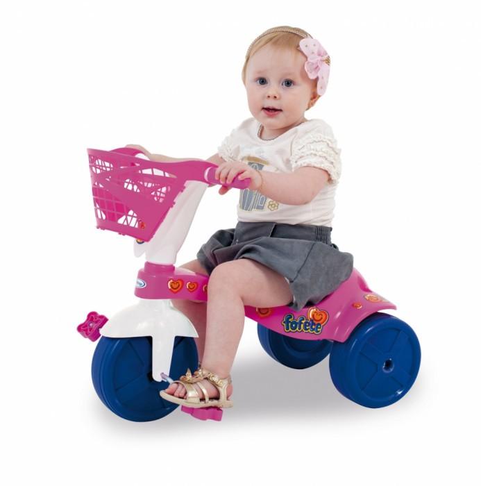 Triciclo Fofete com Cestinha Xalingo