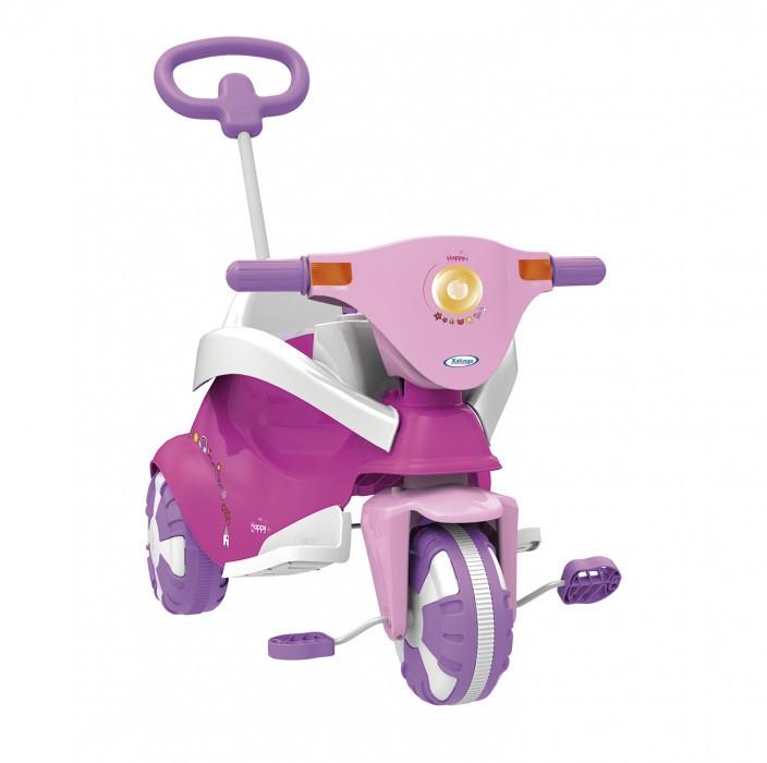 Triciclo Happy Pink 3x1 Xalingo