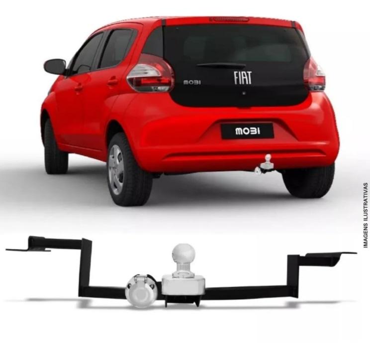 Engate Reboque Fiat Mobi 2016 2017 2018 2019 2020 2021 Completo