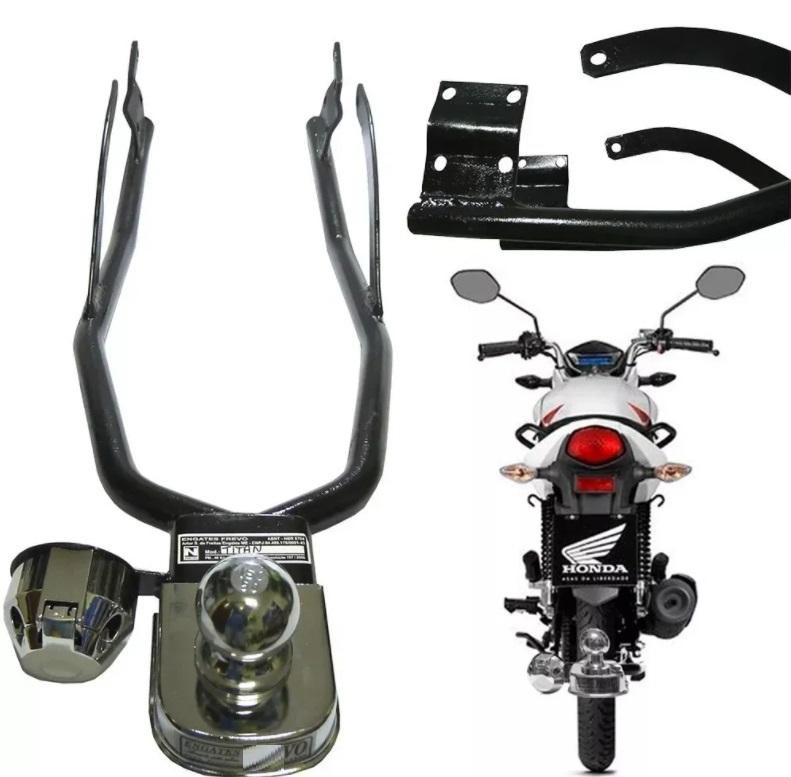 Engate Reboque Moto Cg Titan 150 160 Reforçado