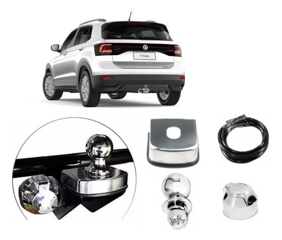 Engate Reboque Novo Volkswagen T Cross 2019 2020 2021