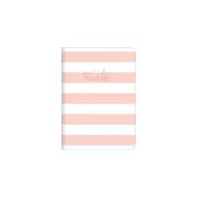 Caderno Flexível 1/4 Tilibra Soho Rosa Listrado