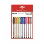 Caneta Trilux Colors Faber-Castell c/10 unidades