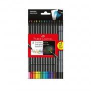 EcoLápis de cor SuperSoft Faber-Castell c/12 cores
