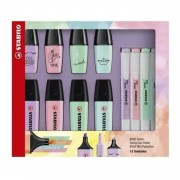 KIT Marca-texto Stabilo Pastel Collection