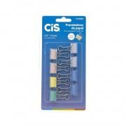 Prendedores de papel Cis Pastel c/8 unidades