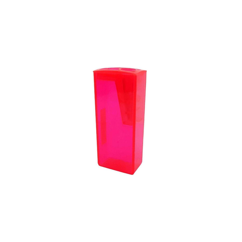 Apontador Pink Neon Faber-Castell c/ depósito