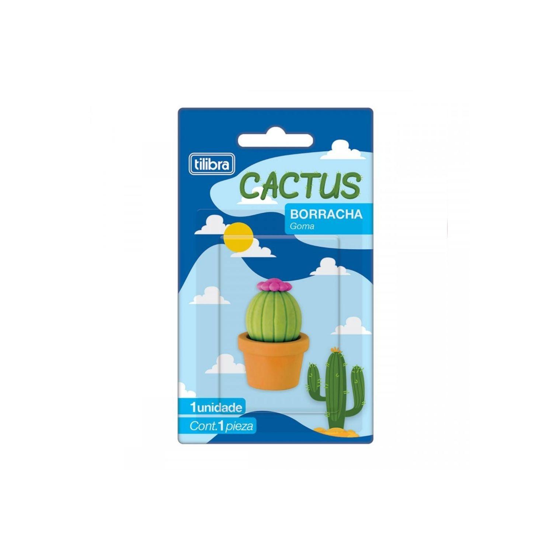Borracha Cactus Tilibra unidade