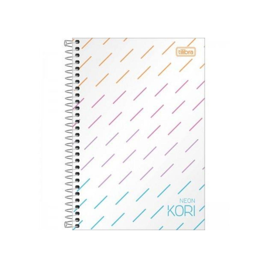 Caderno 1/4 Tilibra Neon Kori