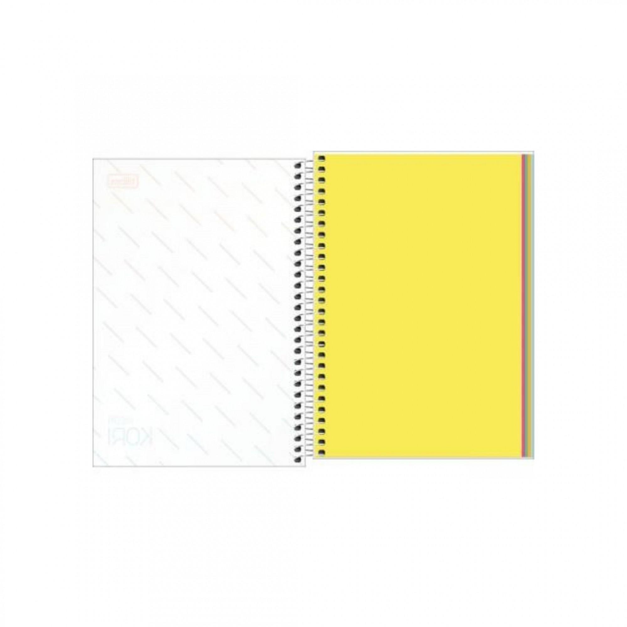 Caderno 1/8 Tilibra Neon Kori