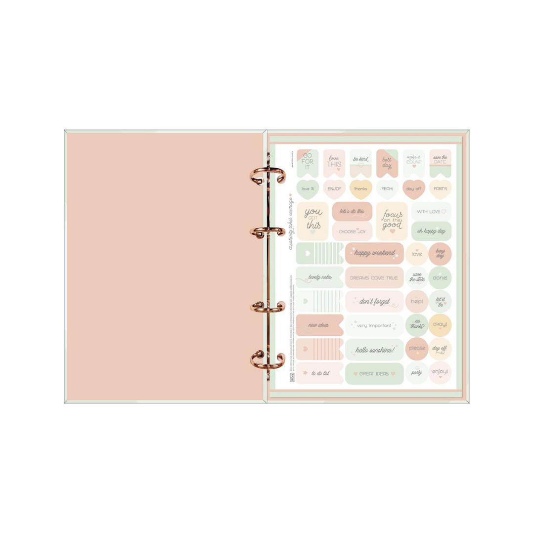Caderno Argolado Cartonado Colegial Tilibra Soho