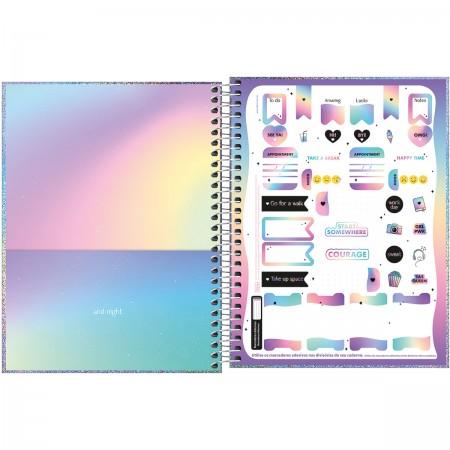 Caderno Colegial Glow 1 Materia