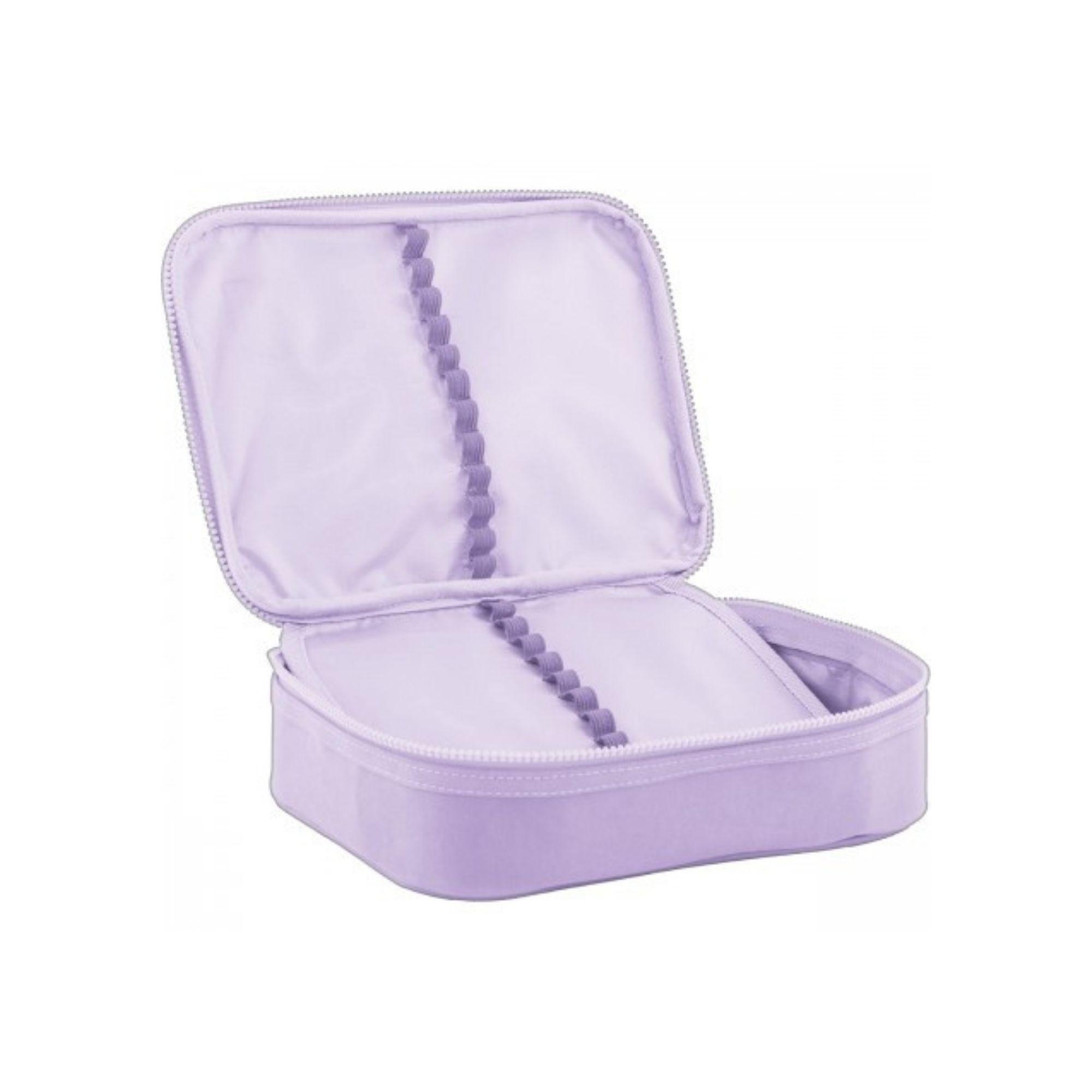 Estojo Box Tilibra Académie Lilás