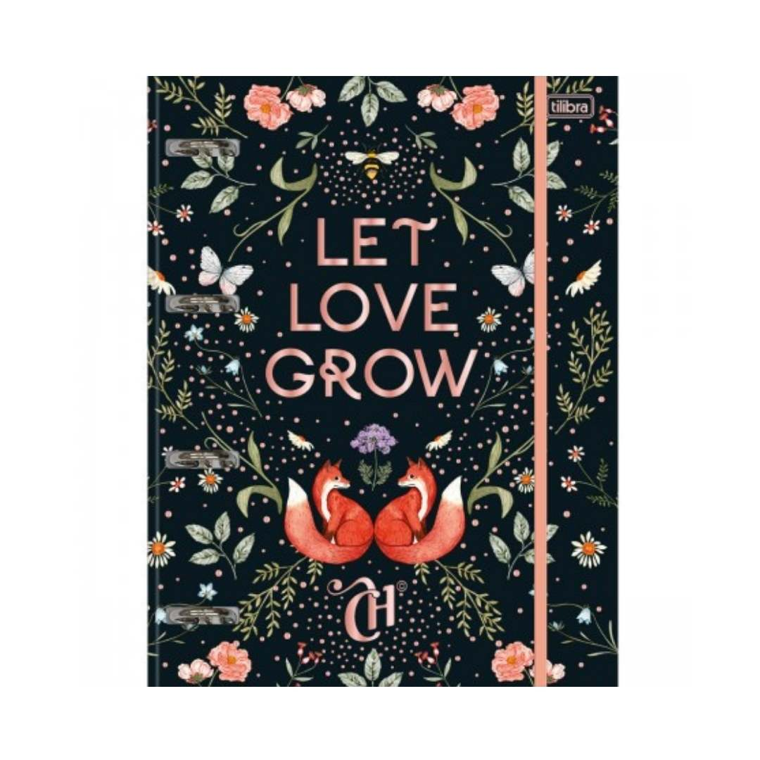 Fichário Tilibra Capricho Let Love Grow