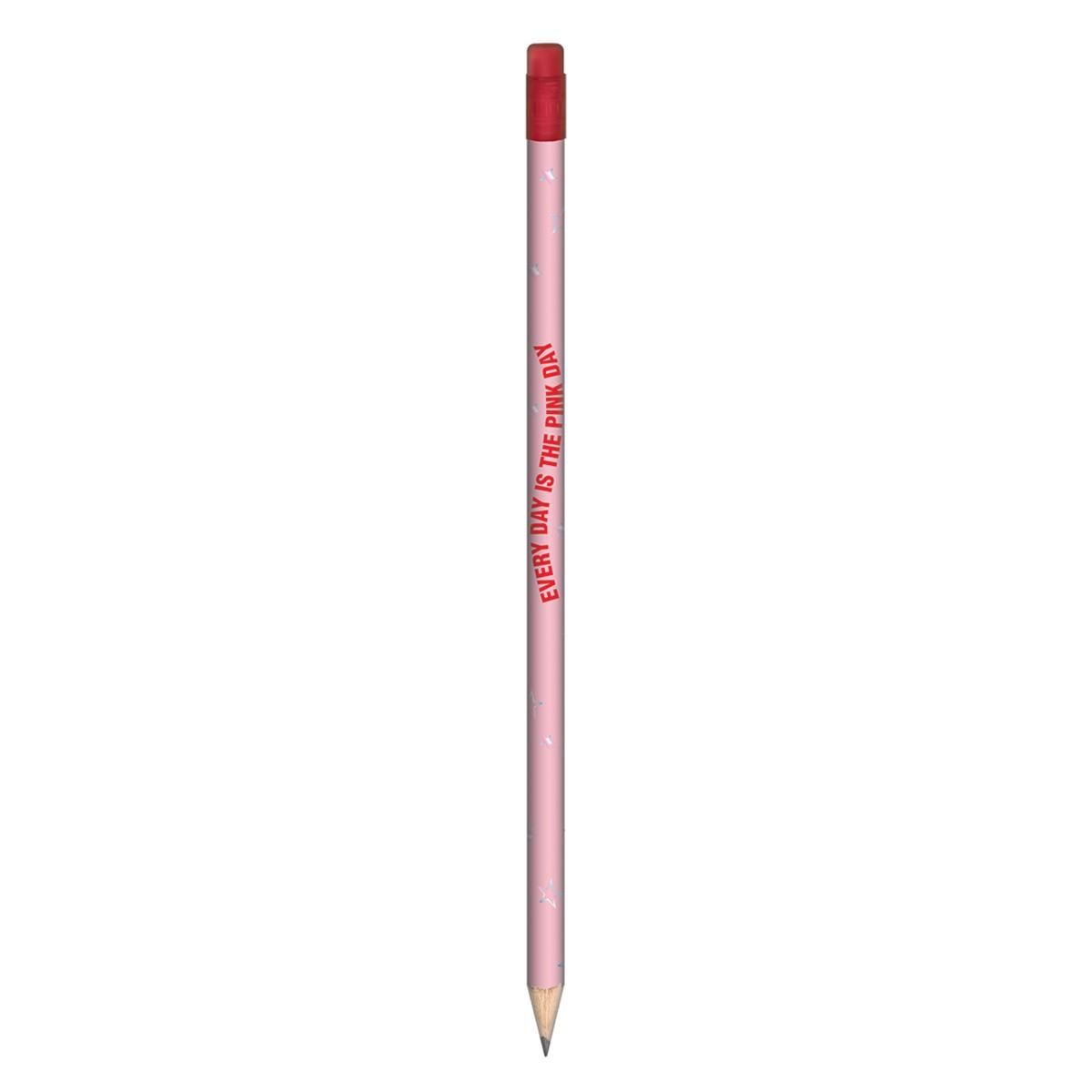 Lápis de escrever Tilibra Love Pink