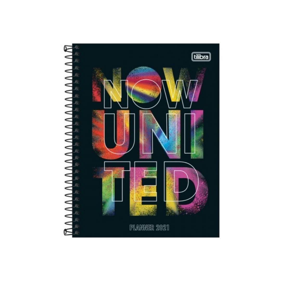 Planner Espiral Now United 2021