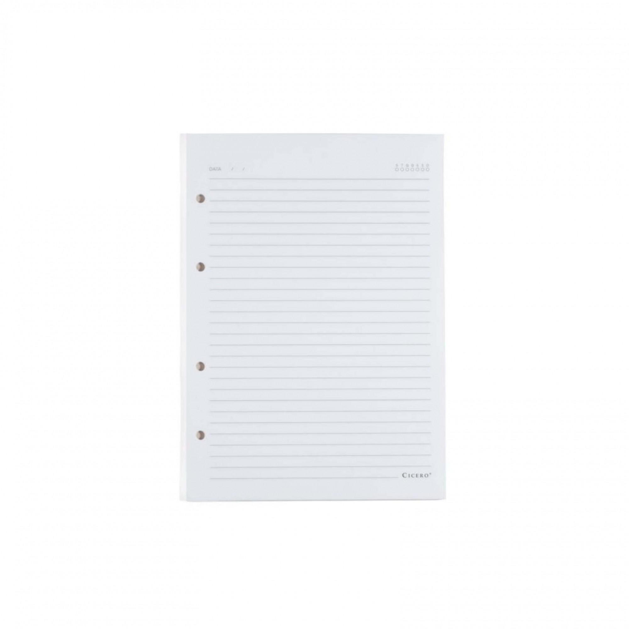 Refil Caderno Criativo Cicero Pautado